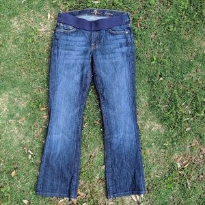 7 for all mankind Maternity Jeans, 28